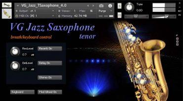 Kontakt Saxophone sound library