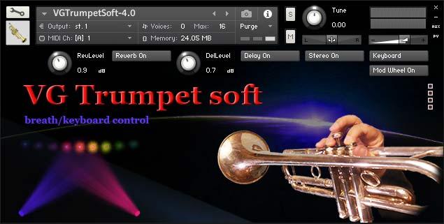 Trumpet Soft Kontakt library