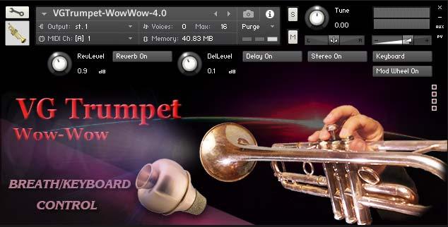Trumpet WowWow Kontakt library