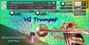 VG Trumpet Harmon muted
