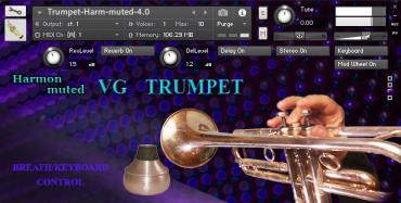 VG Trumpet Harmon muted Kontakt