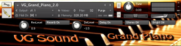 Grand Piano Kontakt sounds Wav