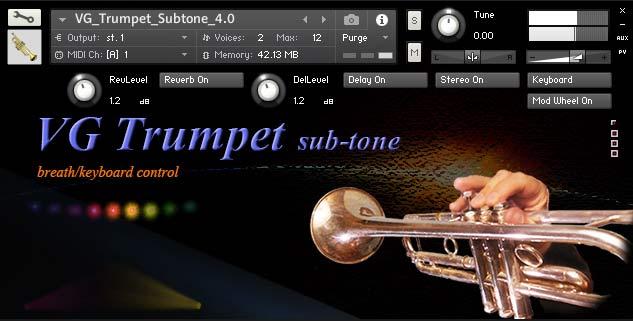 VG Trumpet Subtone Kontakt