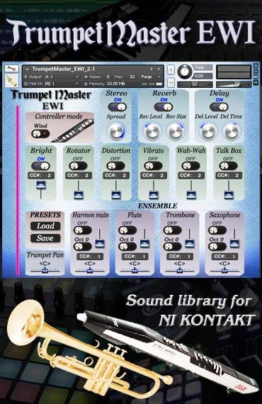 Trumpet Master EWI kontakt