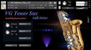 Saxophone tenor kontakt sound
