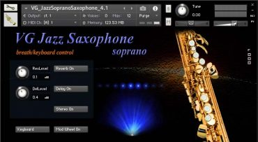 Soprano Saxophone NI Kontakt
