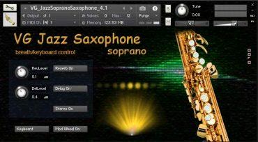 Soprano Saxophone NI Kontakt Sound