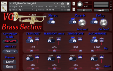 Brass Section Kontakt library