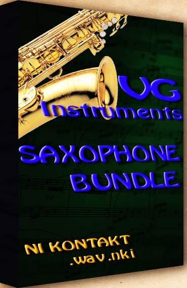 Saxophone Bundle Kontakt wav