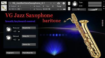 Saxophone Baritone Kontakt