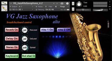 Saxophone Kontakt Sound Library
