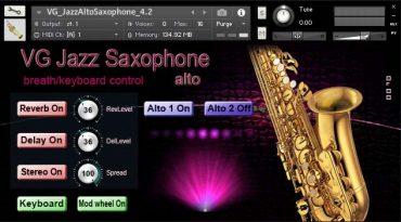 Saxophone NI Kontakt Sound Library