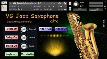 Saxophone Alto Kontakt Sound Library