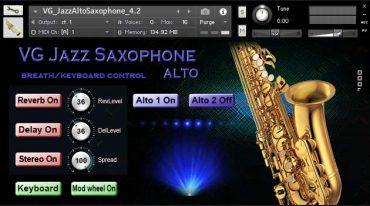 Saxophone Alto NI Kontakt Sound