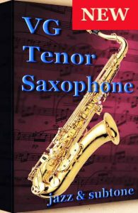 VG Tenor Saxophone Kontakt sound