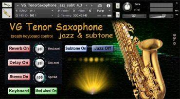 VG Tenor Saxophone NI Kontakt