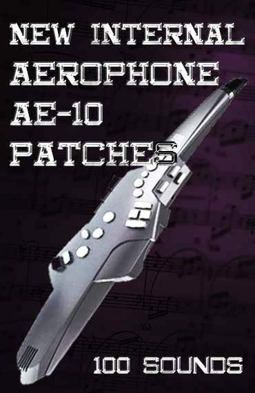 Aerophone ae-10 Patches