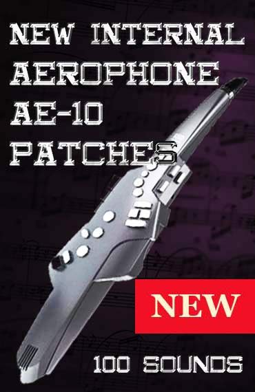 Aerophone ae-10 Patches NEW