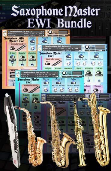 Saxophone Master EWI bundle