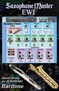 Sax Master EWI BARITONE Saxophone