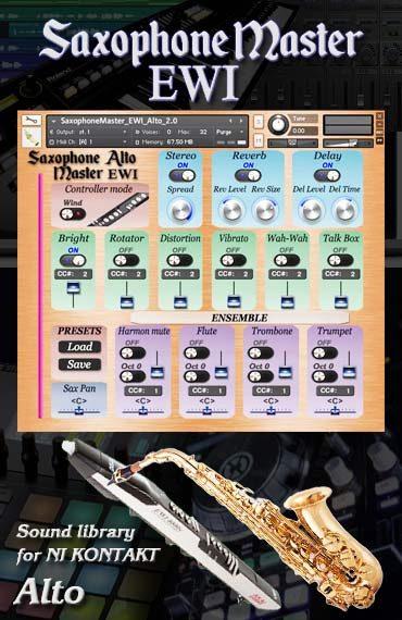 Sax Master EWI Kontakt sound