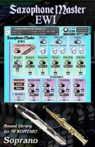 Sax Master EWI SOPRANO Saxophone