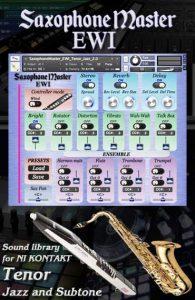 Sax Master EWI TENOR Saxophone