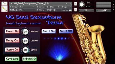 Sax tenor kontakt library