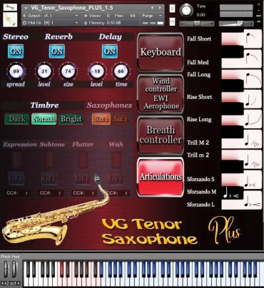 VG Saxophone Tenor Kontakt