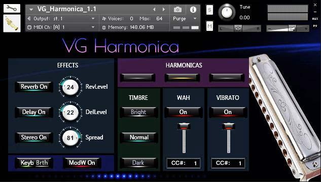 VG Harmonica Kontakt